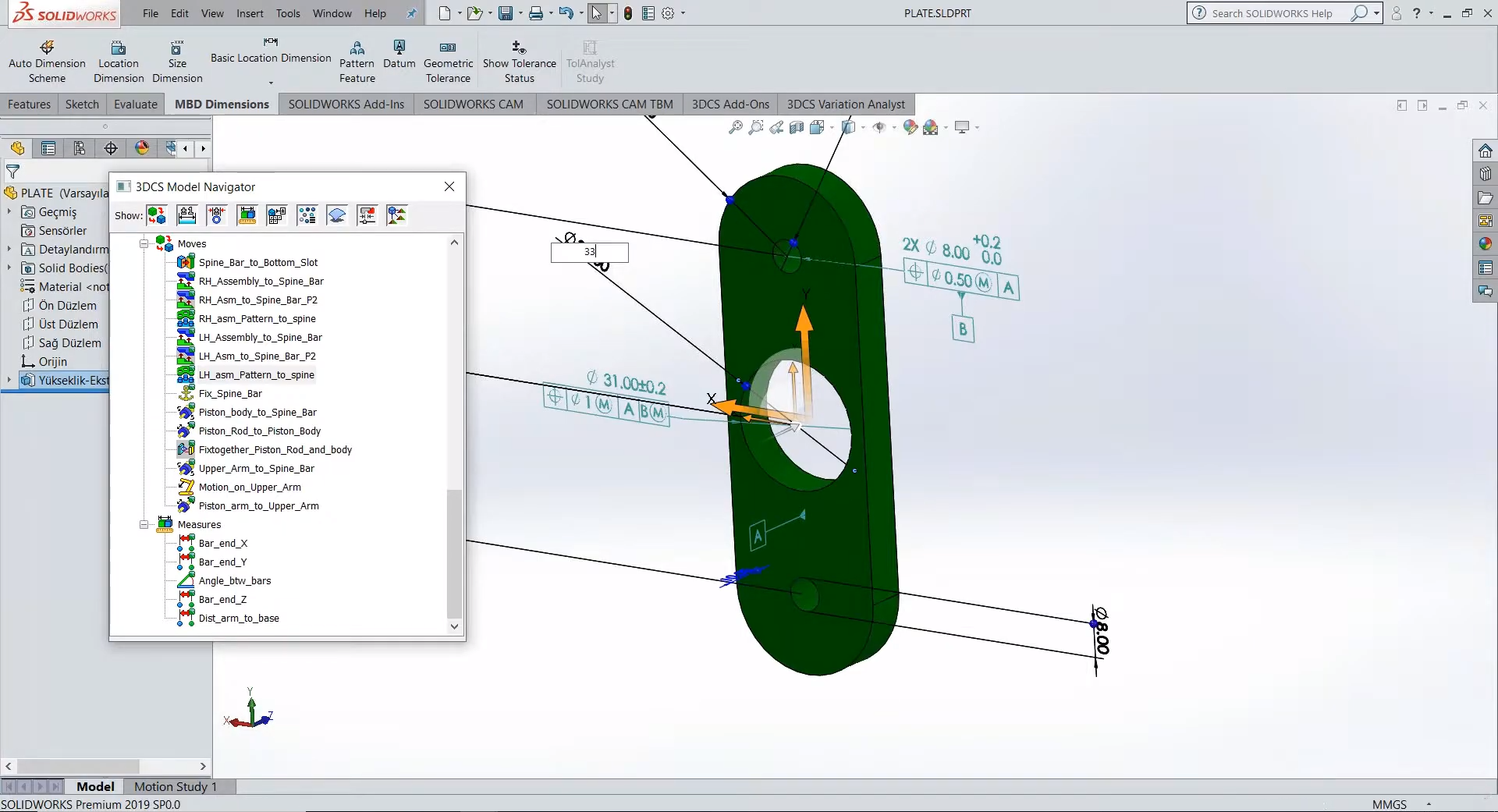 SOLIDWORKS GD&T and Design Changes