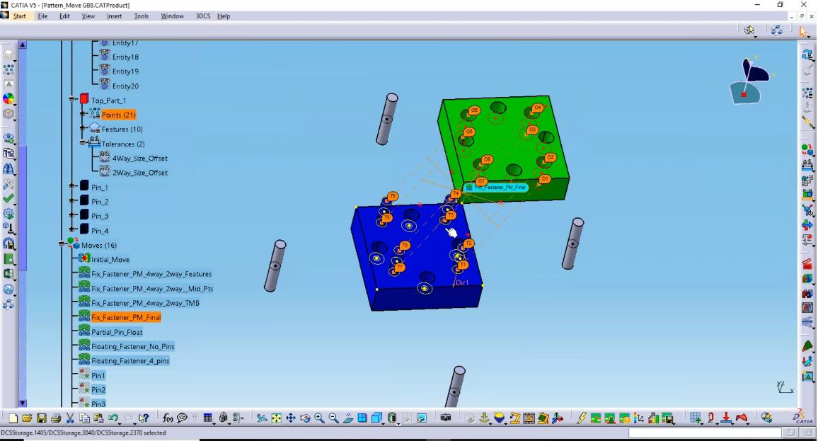 Pattern Move - 3DCS