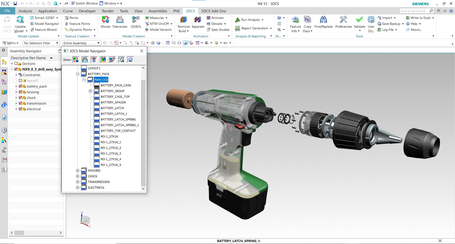 3DCS for NX - Simulate Assembly, Manufacturing Processes, Tolerances