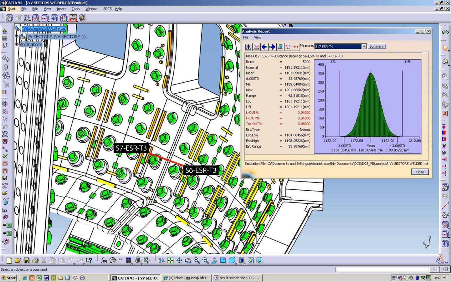 3DCS for CATIA V5 - ITER Toroidal Coil