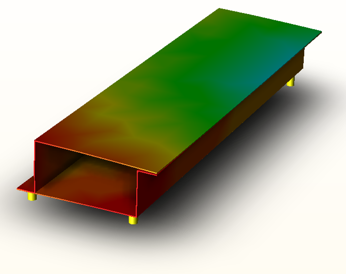 Determine the effects of forces on compliant assemblies