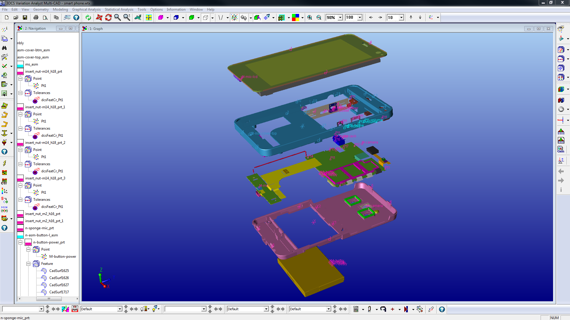 Simulate the assembly process
