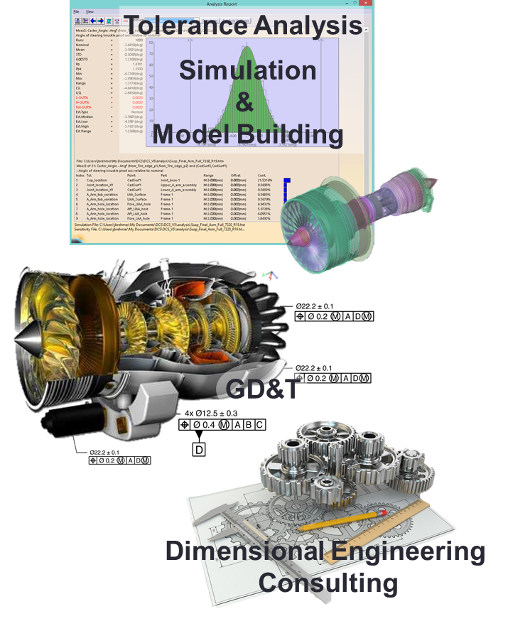 3DCS Model Building | GD&T | Dimensional Engineering