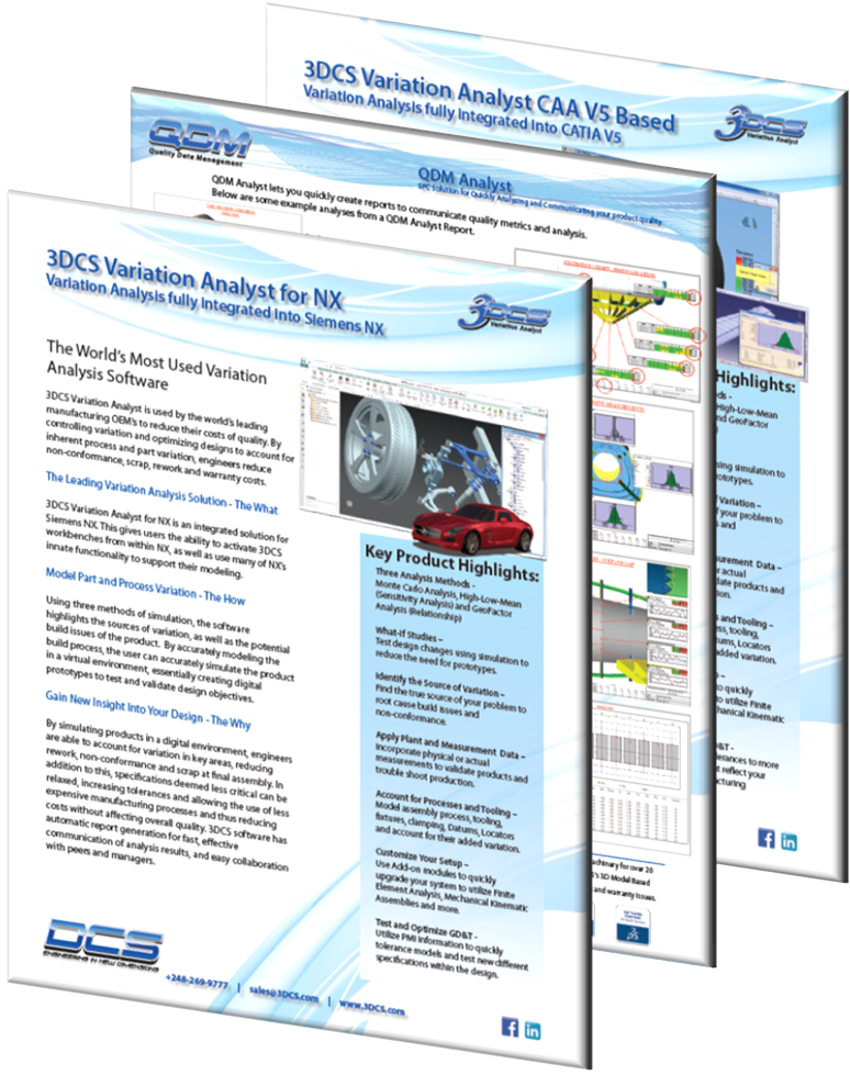 DCS Brochures - dimensional analysis and spc systems