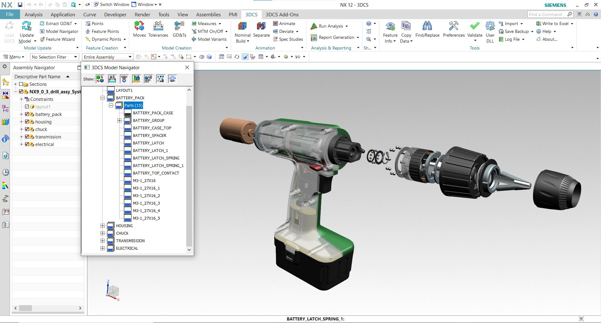 Product Assembly Simulation - 3DCS