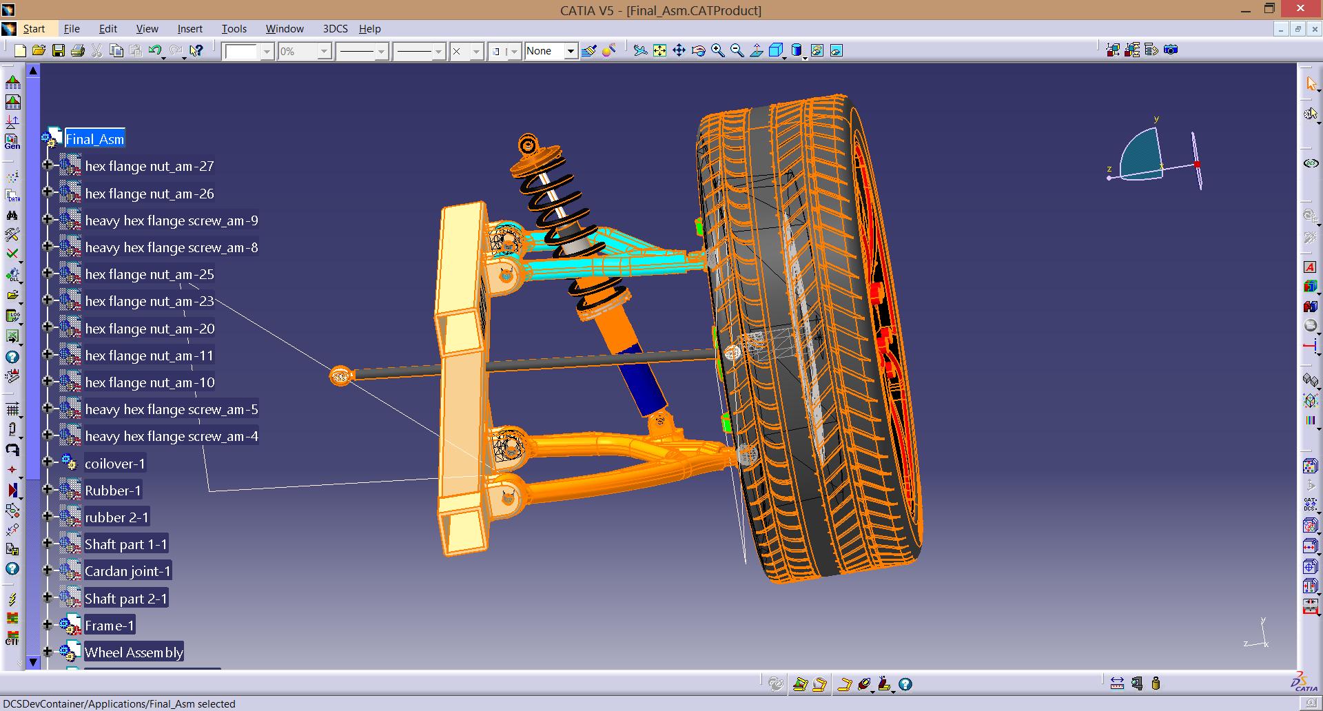 Mechanical suspension assembly process optimization