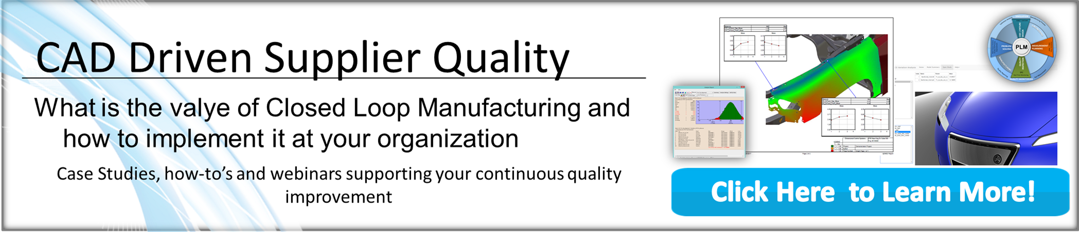 Learn more about Cad Driven Supplier Quality