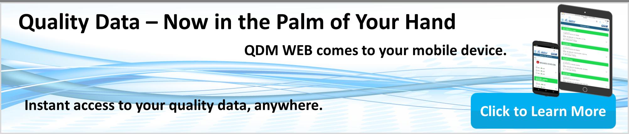 Learn About QDM