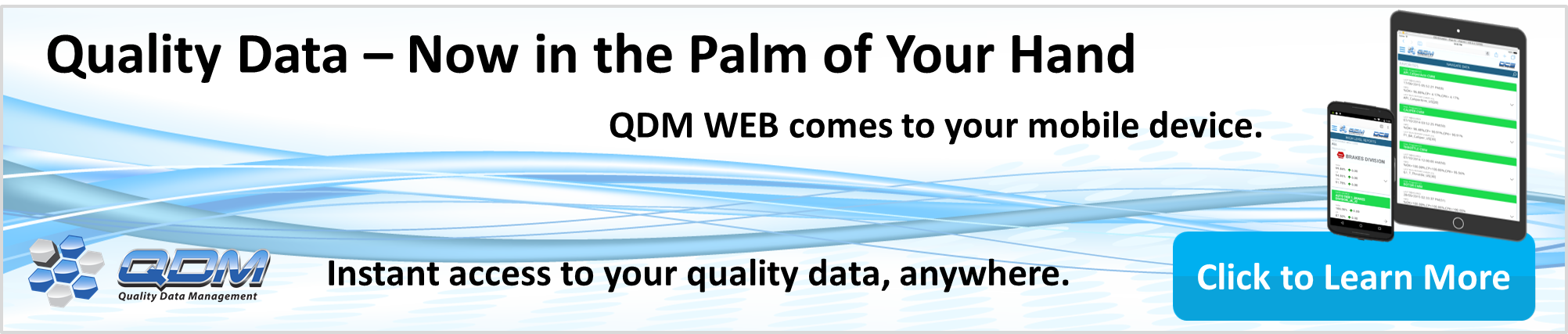 QDM - Now Available on the Cloud