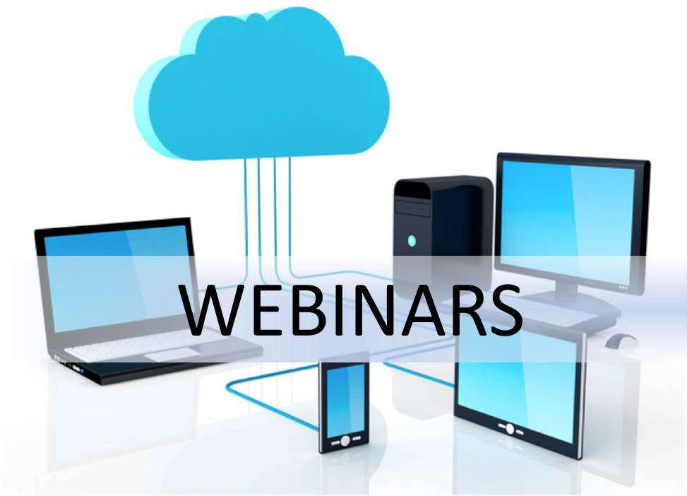 Webinars - Upcoming & On-Demand